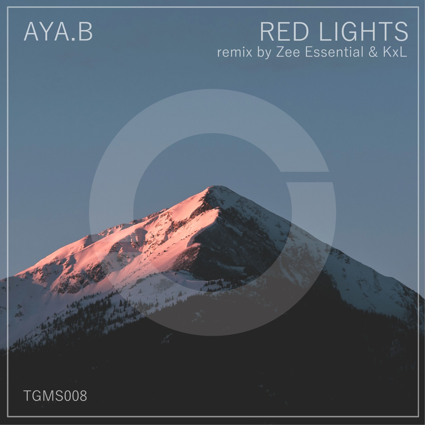 Aya.B - Red Lights (incl. Zee Essential & KxL remix)